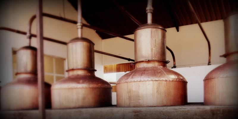 Copper Stills.