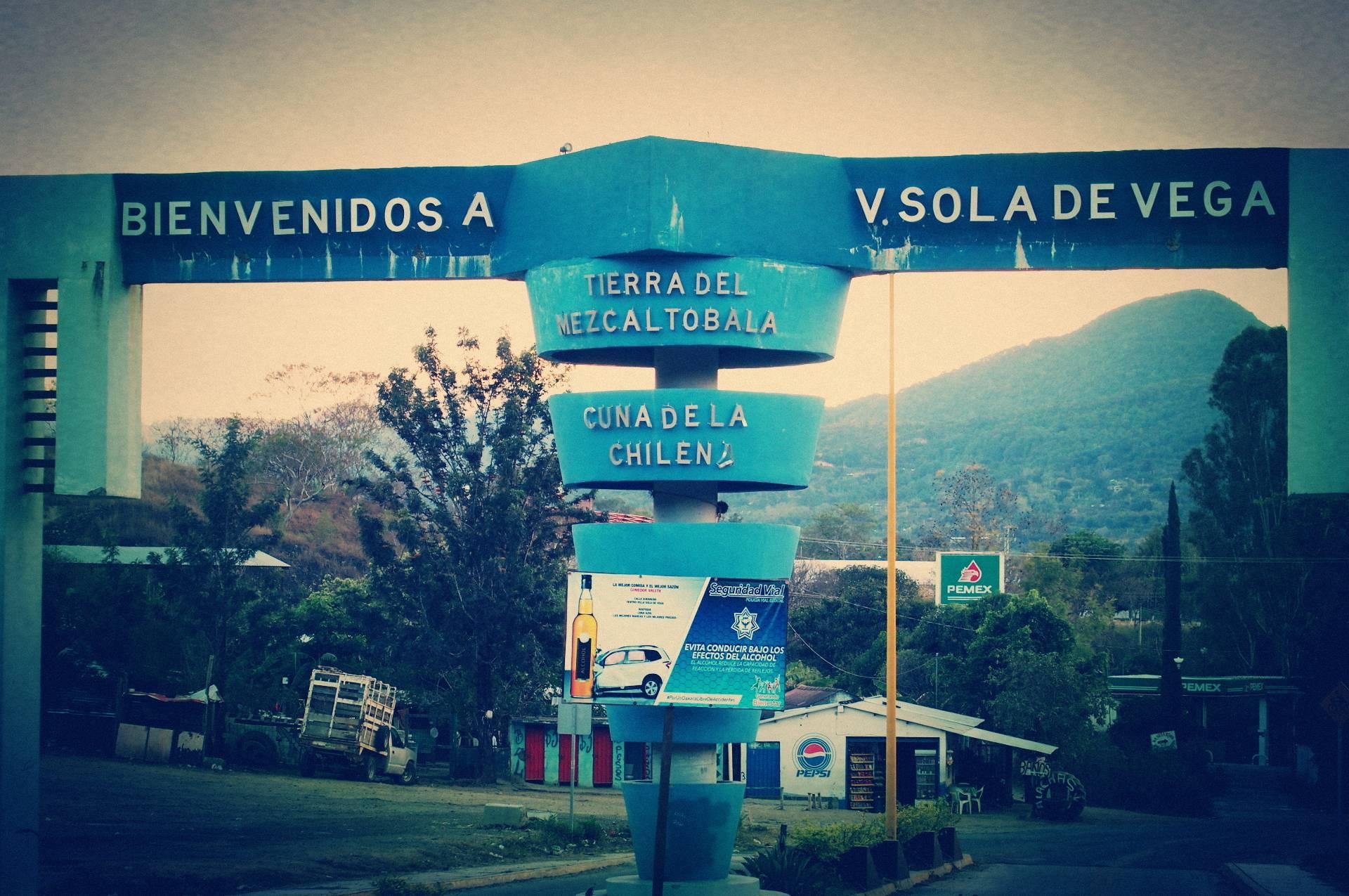 Entrance Sola the Vega.