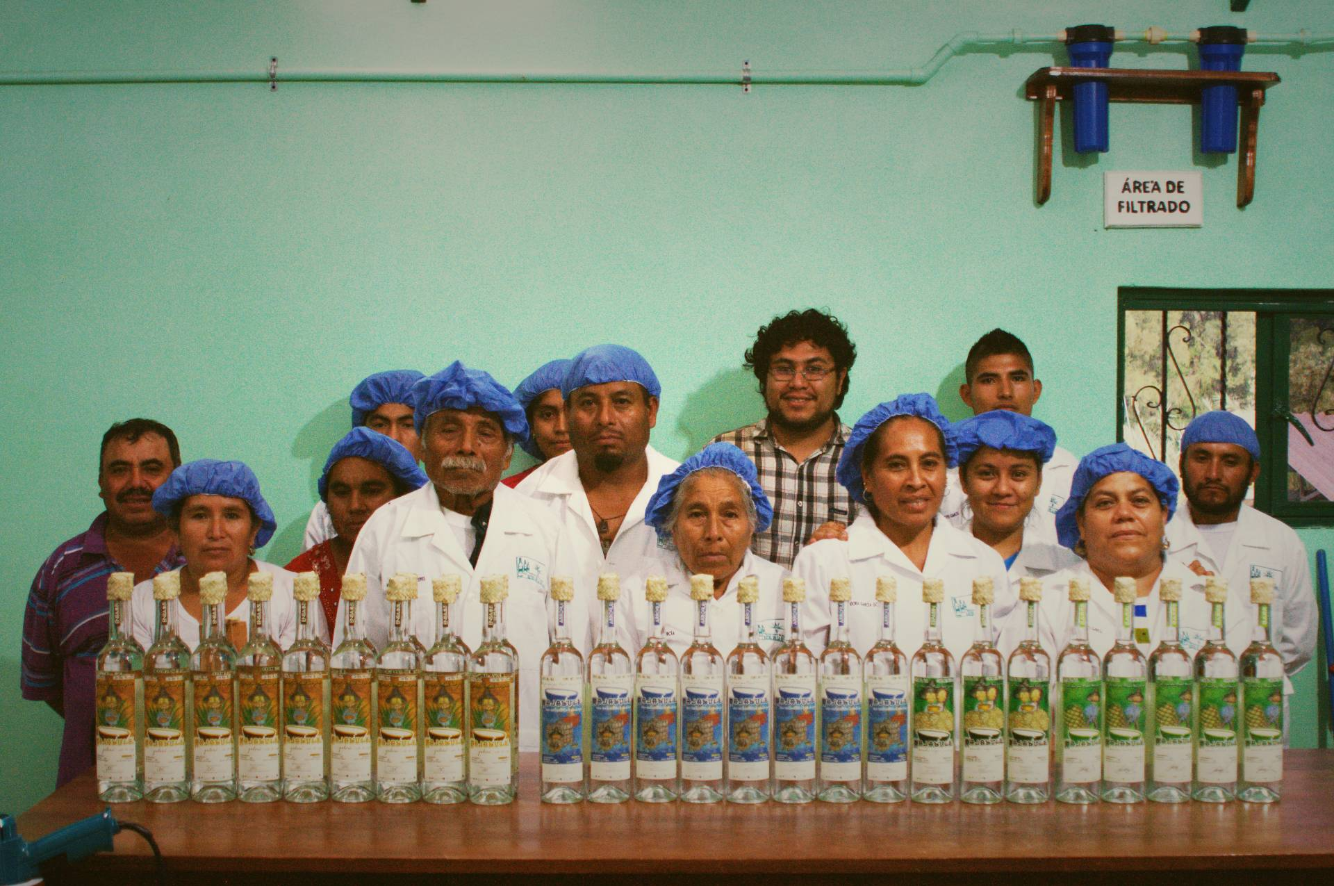 Members of the cooperative Raíces Soltecas.